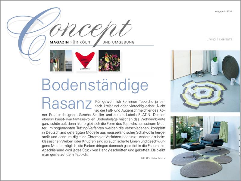 Concept – Magazin