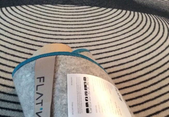 Shamrock 002 - Teppich in moderner Kleeblattform