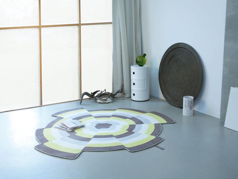 slices 001 design veloursteppich mit hoch tief. Black Bedroom Furniture Sets. Home Design Ideas