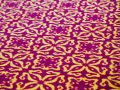 TILES 003-Roter Teppich aus Wolle Made in Germany